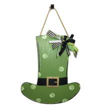 Leprechaun Hat with Metal Buckle Door Hanger