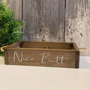 Nice Butt Bathroom Box Decor