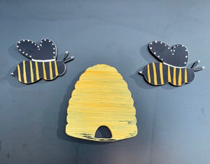 Bees and Hive Magnets