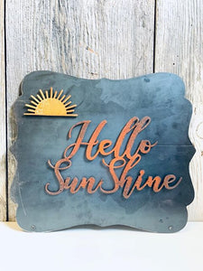 Sun and Hello Sunshine Magnets
