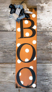 Boo Porch Sign - Halloween Home Decor Wall Hangings