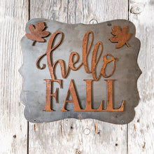 Hello Fall with Leaves - Magnet Set
