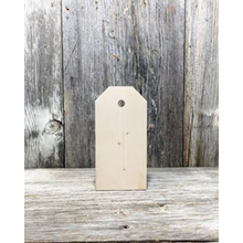 Tag Wooden Blank Cutout - Small