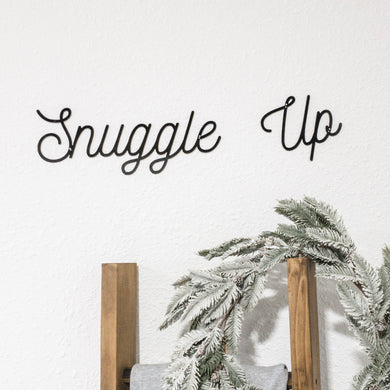 Snuggle Up - Metal Wall Art Home Decor
