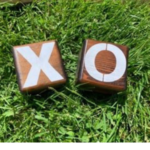 Tic-Tac-Toe - X and O - Yard Outdoor Family Game