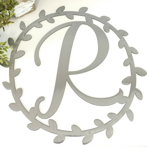 Metal Vine Wreath