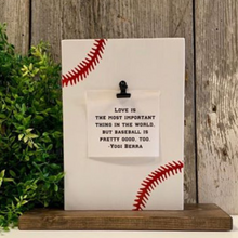 Baseball Picture Holder