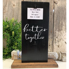 Better Together Picture Holder - Black