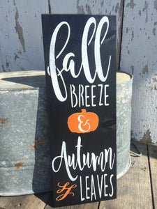 Fall Decor - Rustic Fall Decor - Fall Wood Sign - Autumn Decor - Fall Porch Decor - Hand Painted Sign - Rustic Wall Decor - Fall Sign