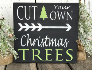 Cut Your Own Christmas Trees