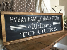 Rustic Wood Sign - Farmhouse Sign - Farmhouse Inspired  Signs - Rustic Home Decor - Family Sign - Framed Decor -  Wood Wall Hanging