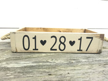 Rustic Wedding Card Box - Wood Card Box - Wedding Table Centerpiece - Wedding Decor - Vintage Wedding Decor - Customized Wedding Sign