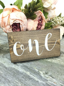 FREE SHIPPING - Rustic Wedding Table Numbers - Wedding Table Decor - Table Numbers - Vintage Wedding - Wedding Decor - Wood Table Numbers