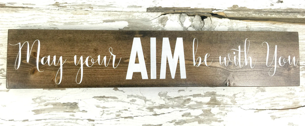 Rustic Bathroom Sign -  Bathroom Wall Hanging - Rustic Bathroom Decor - Man Cave - Rustic Wood Sign - Rustic Home Decor - Rustic Wood Sign