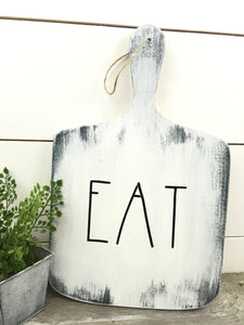 Eat Sign - Decorative Cutting Board