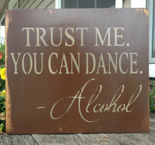 Alcohol Sign - Wedding Decor - Wedding Sign - Reception Sign - Reception Decor - Bar Sign - Rustic Wood Sign - You can dance sign