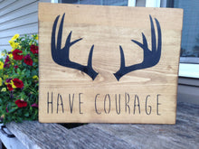 Rustic Wood Sign- Dream Big Sign - Nursery Decor - Deer Antler Sign - Rustic Home Decor - Hunting Decor - Rustic Wall Hanging - Cabin Decor