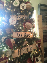Christmas Tree Signs- Have yourself a Merry little Christmas OR Joy to the World