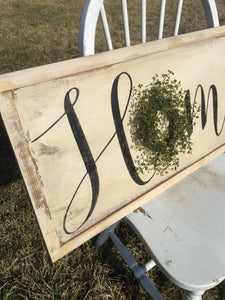 Rustic Home Sign - Wood Sign - Wood Signs - Home Sign - Rustic wood sign - Rustic Decor - Rustic Sign - Wood Wall art - Wall Hanging - Sign