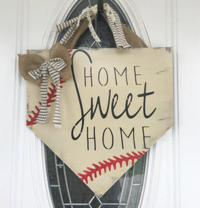 Baseball Home Plate - Home Sweet Home