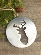 Metal Christmas Tree Ornaments - Deer - Truck - Christmas Tree - Snowman