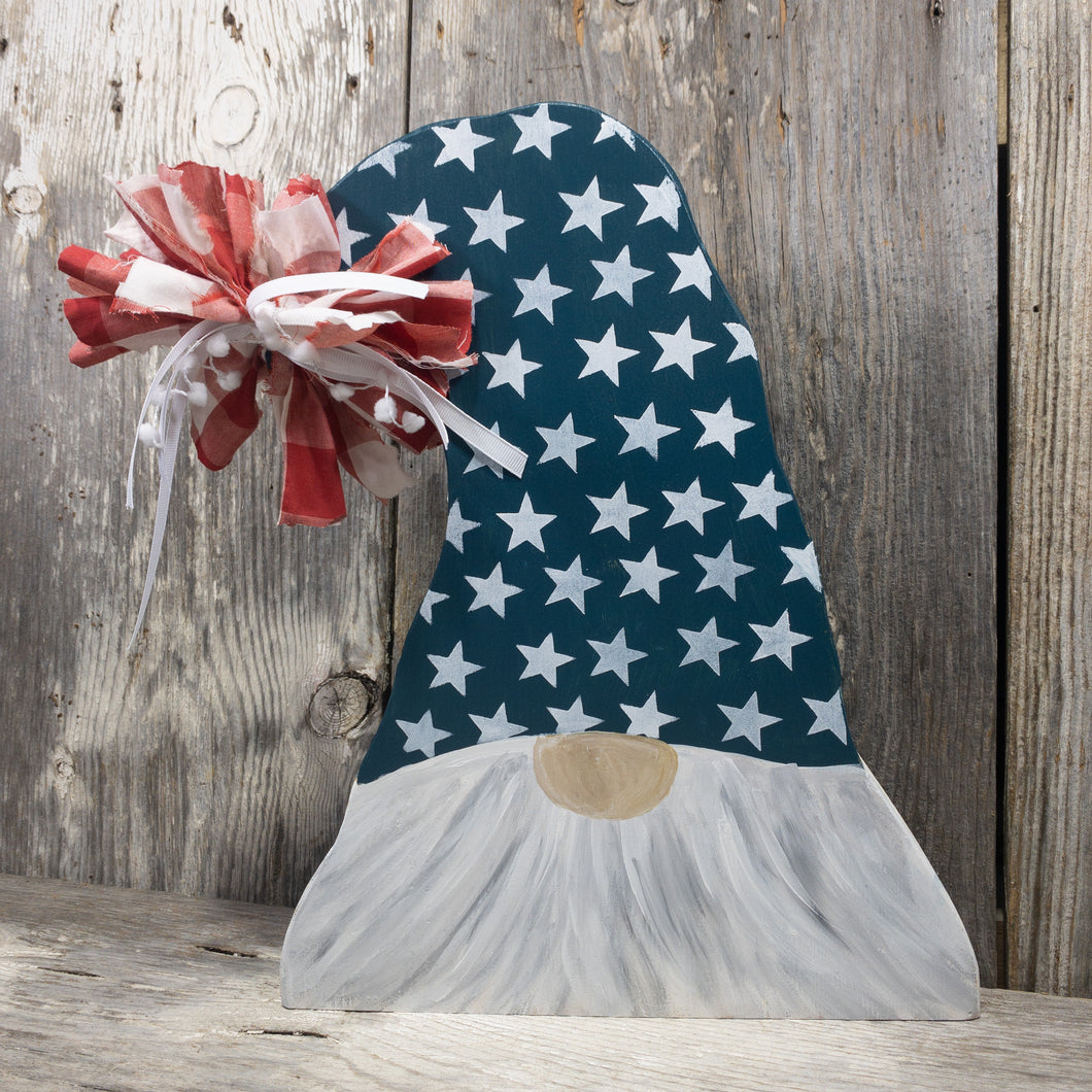 Summer Gnome - Patriotic - Fourth of July