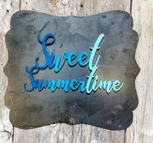 Sweet Summertime Magnet - Blue Blend