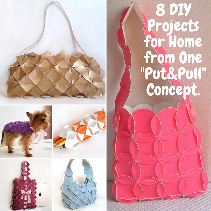 "8 Creative Projects From One ""PUT&PULL"" Craft Kit  Fun arts and crafts for adults"
