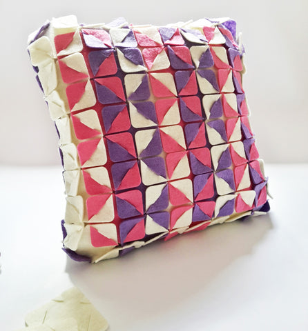 no sew pillow cover put pull