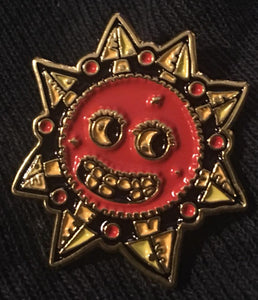 Sun of Chaos. Solo Enamel Pin