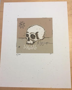 Skull - Signed Limited Edition Print