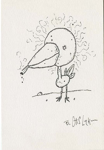 Smokin Bird-Original Art