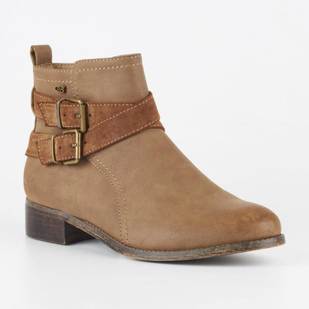 Miss Black Abir 2 Ankle Boots - Tan