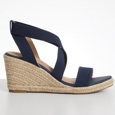 Butterfly Feet Quantom Wedge - Navy