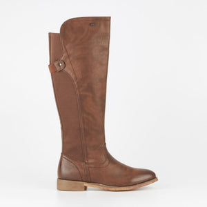 Miss Black Rainer 5 Boot - Choc