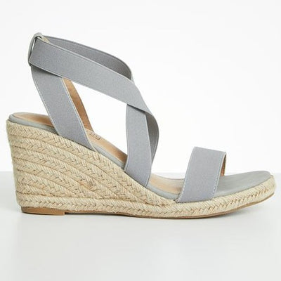 Butterfly Feet Quantom Wedge - Grey