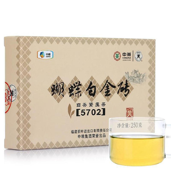 2015yr Zhongcha 250g White Butterfly Lowering Blood Pressure Anti-radiation White Tea-Moylor
