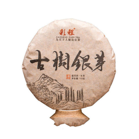 2017 CaiCheng Bud Tea of 300yr Pu-erh Tea Buds 100g Flowers Fragrant Honey Sweet White Tea-Moylor
