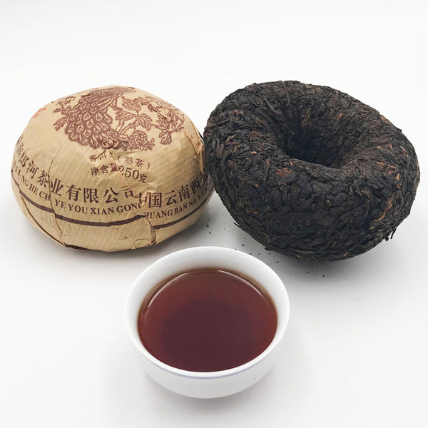 Yunnan 2012 Menghai Puer Cooked Tea 250g