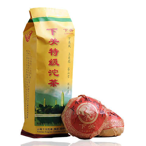 Yunnan Pu'er Tea Xiaguan Tea Pu er Tea Conveniently Packed Premium Tea 500g