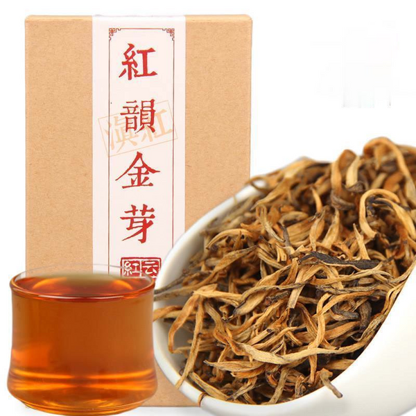 Yunnan Dianhong Kong Fu Tea Fengqing Black Tea Black Tea Hong Yun GoldenSingle Bud  Exquisite Box 70g