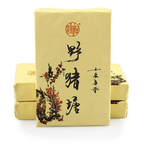 Caicheng 2012 Yunnan Old Tree Pu'er Tea Natural Organic Green Puer Gushu 250g Raw Puerh Brick-Moylor