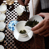 Chahe Tea Load Piattino - White Ceramic Kung Fu Tea White Tea Load for Tea Kungfu Set-Moylor
