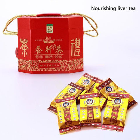 China Herbal Tea Nourishing Liver Tea Variety Of Natural Plant Health Care Tea Beautify The Skin 60pack/barrel+A Tea-Moylor