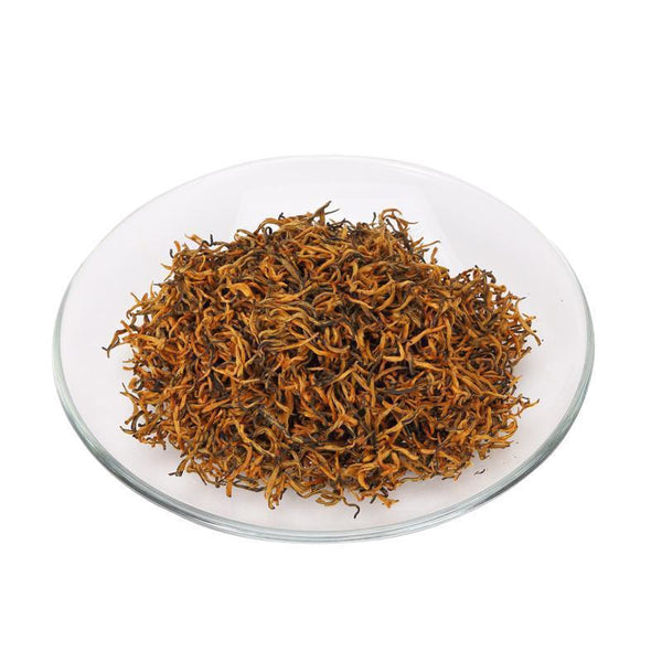 China Tea Wuyi Mountain Black Tea Loose Tea Leaves1 Level Jinjunmei Balck Tea 100g-Moylor