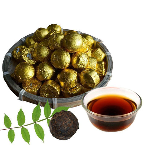 China Tea Yunnan Pu'er Tea Original Kim Jiangzhijianfei Slimming Fermentation Cooked Tuo Mini 10pcs/lot Tea-Moylor