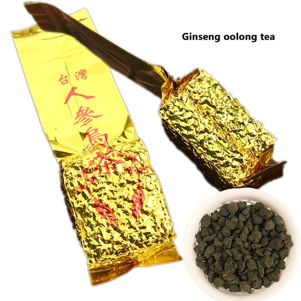 Authentic Vacuum Package Taiwan Ginseng Oolong Tea 250g