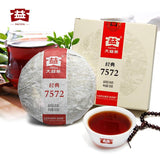 Dayi Tea 301 batch 7572 Carcake PU Er Cooked Tea Menghai Tea 150g