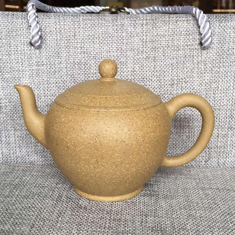 Liu Lihui's Excellent Work Authentic Ceramics Teapot 340ml Big Capacity Purple Clay Tea Set Kettle Kung Fu Teapot Travel Tea Set