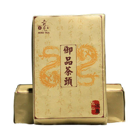Mike Yunnan 2006 Special Grade Royal Iceland Goods Gold Bud Cooked Pu Er Brick Tea 500g-Moylor